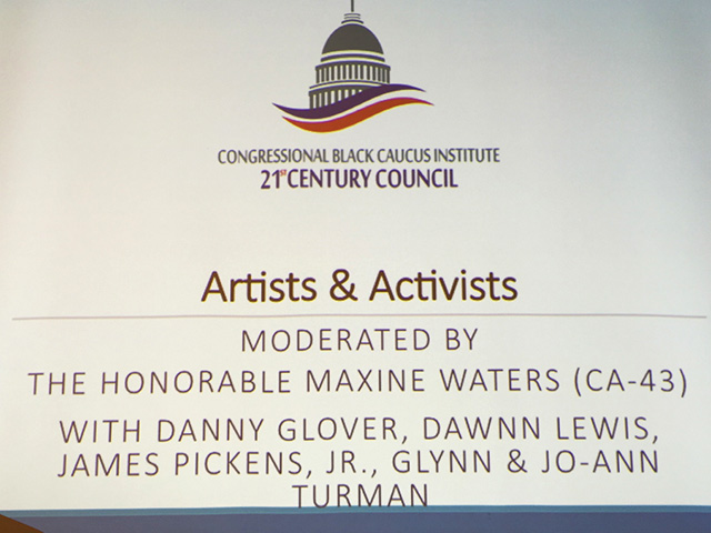 Artists and Activists plaque