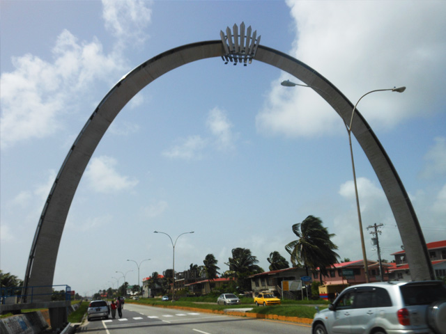 Guyana Independence Arch