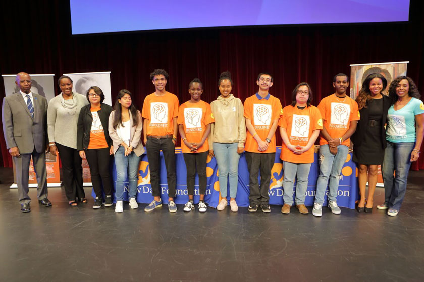 Computer & Scholarship Recipients and UNCF Staff