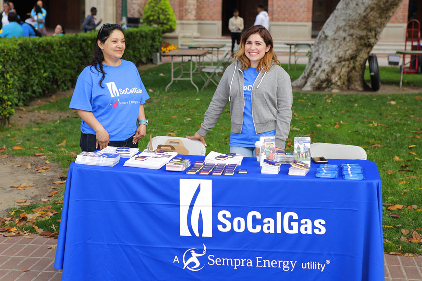 So Cal Gas Info Table